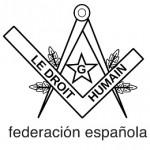 logo federación española le droit humain